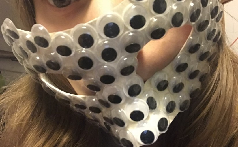 The Googly Eye Mask & what to do with old projects?